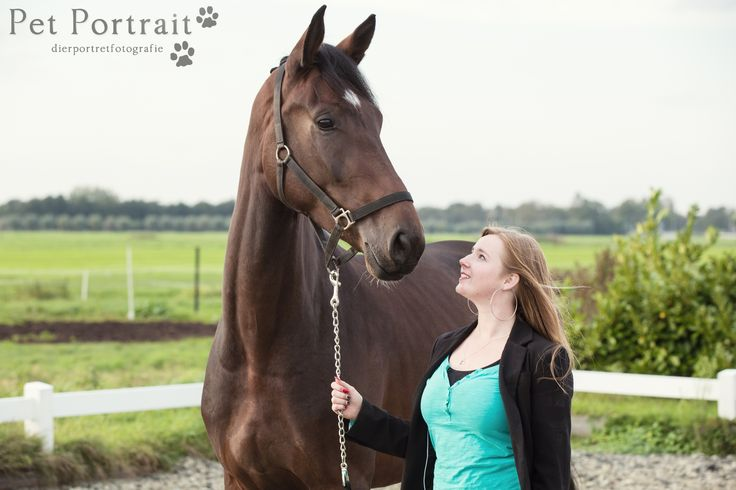 In oktober mocht ik een gezellige Dier & Baasje fotoshoot schieten in Lekkerkerk, voor de twee prachtige paarden Angel en Miranda, en hun baasje