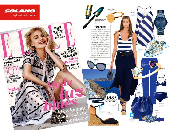 Elle Magazine #eyewear #magazine #press #fashion #article #sunglasses #summer