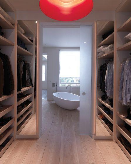 The true definition of luxury. Walkin closets never fail