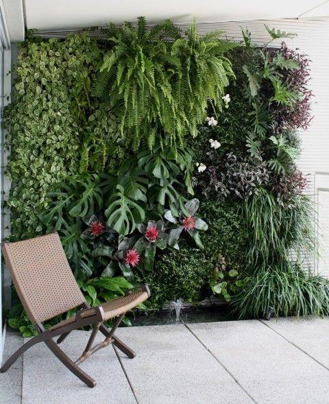 como montar jardim em espaço pequeno - Pesquisa Google