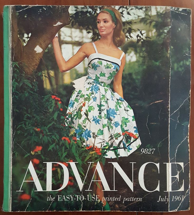 ADVANCE Catalog Counter Book July 1961 Fashion Illustrations Almost 2,000 pages of 1961 fashion sld 50+7.98 1bd 7/12/16