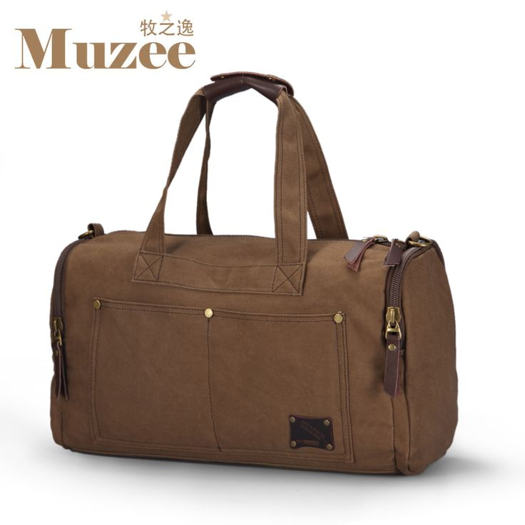 2016 Muzee Travel Bag Large Capacity Men Hand Luggage Travel Duffle Bags Canvas Weekend Bags Multifunctional Travel Bags *** Trouver des produits similaires en cliquant sur l'image