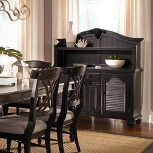Broyhill Furniture Mirren Pointe Traditional Server With Drawers And Doors DiningRoom