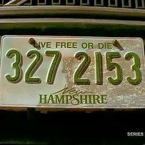 """And finally the moment you realise how important New Hampshire's state motto was.  During the final episode the camera lingers on the New Hampshire plates to reveal the state motto, """"Live Free or Die"""", which is also the name of the Season 5 premiere. It also foreshadows the outcomes of the two main characters. One lives free, while the other…"""
