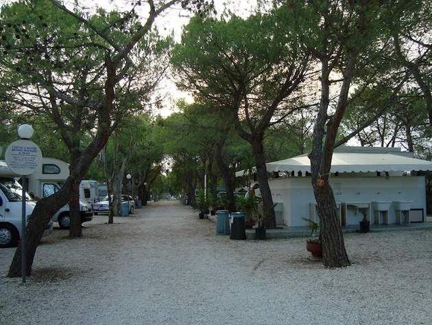 kleine campings italie - lido salpi
