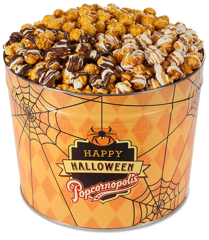 8 best popcornopolis images on pinterest gift baskets gourmet its a fearsome threesome of popular halloween flavors in our popcorn tin full of pumpkin spice caramel corn zebra popcorn negle Gallery
