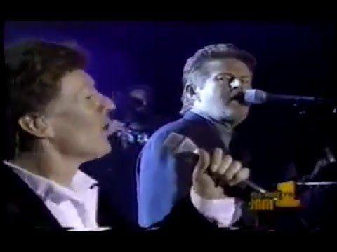 "Steve Winwood & Don Henley   ""Hold on I'm Comin' """