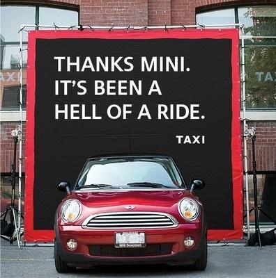 Mini Cooper @Kathleen Bird-Rainbolt #advertising