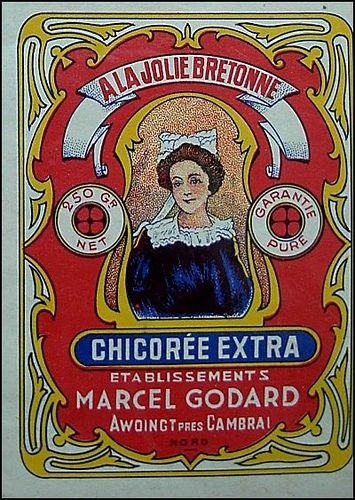 Lovely Brittany lady-vintage ad for chicory by april-mo, via Flickr