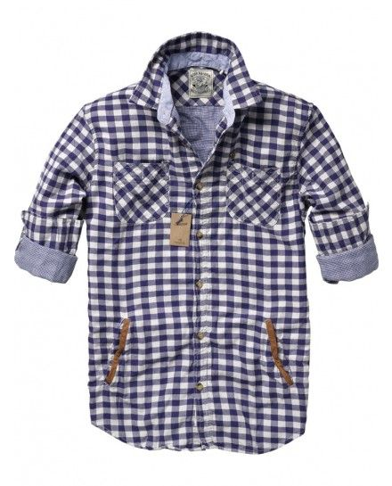 Scotch  Soda - such a masculine shirt, i love it! i love it for men.. (this is a men's shirt btw)