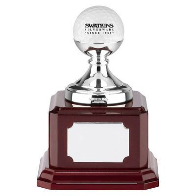 #Swatkins 4.5 inch golf ball #trophy, #award, hole in one #award - free engraving,  View more on the LINK: http://www.zeppy.io/product/gb/2/311288343471/