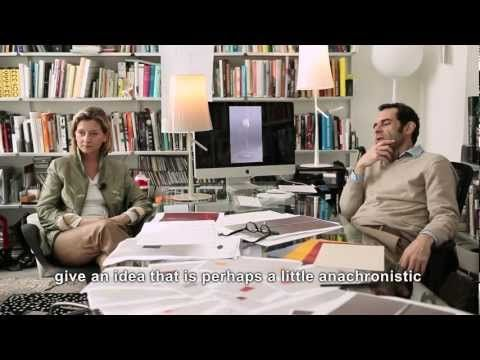 Ludovica+Roberto #Palomba talking about BIRDIE #lamp designed for Foscarini I #design #interview