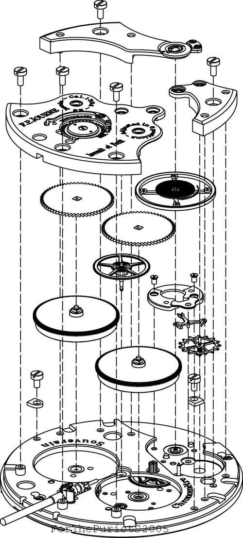 Watch Schematics Steampunk Mansion Pinterest Clock