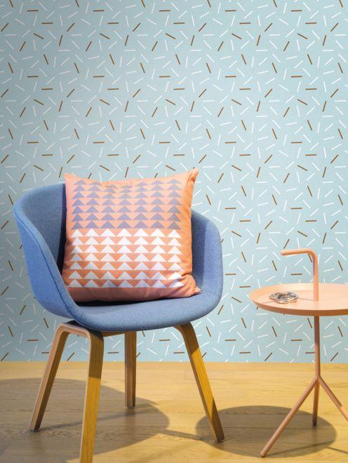 Designer wallpaper Matches