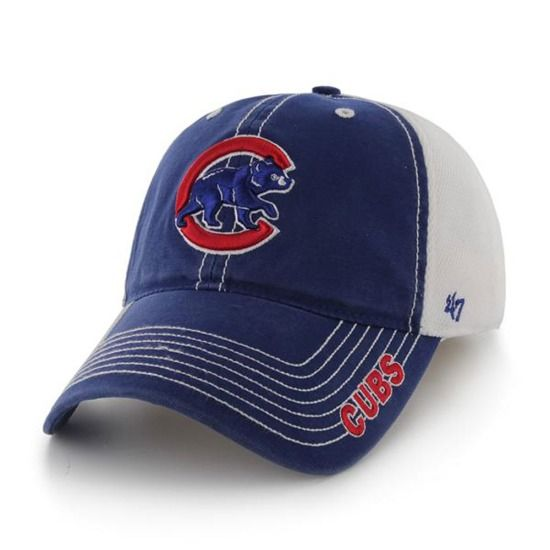 Chicago Cubs Stretch Fit Ripley Closer Cap by '47 Brand | SportsWorldChicago.com  #ChicagoCubs @cubs