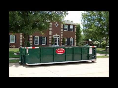 (563) 332-2555 West Branch Iowa Garbage Dumpster Rental Company
