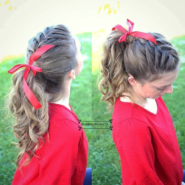 Braidsandstyles12 | Curly ponytail and Ponytail