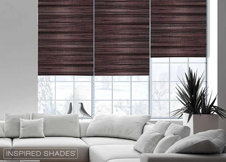 Natural Woven Shades Are Made Of Renewable Resources And Add Organic Appeal To Your Home