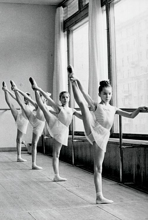 Academy ballet dancers (1969)