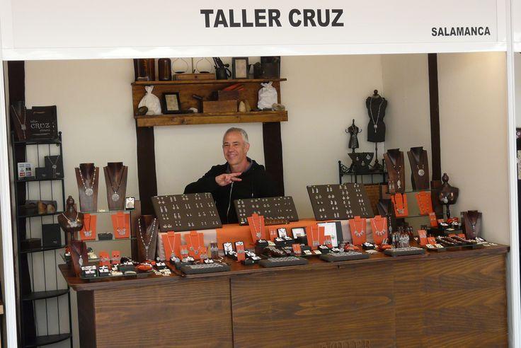 Compañero en la Feria de Artesanía de Salamanca, #artesanía
