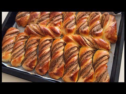 Bütün Püf Noktalarıyla Haşhaşlı Bükme Tarifi-Haşhaşlı Çörek Yapımı-Bera Tatlidunyasi - YouTube