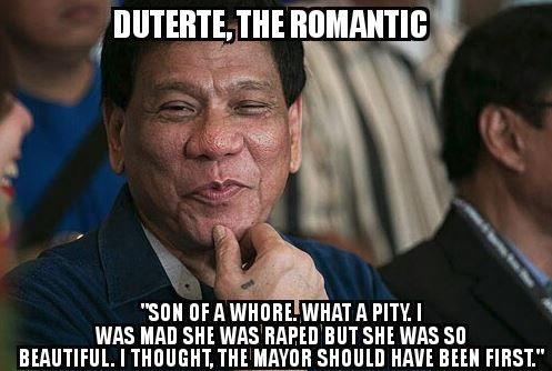 Creepy Rodrigo Duterte.