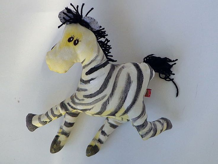 Beschilderde zebra