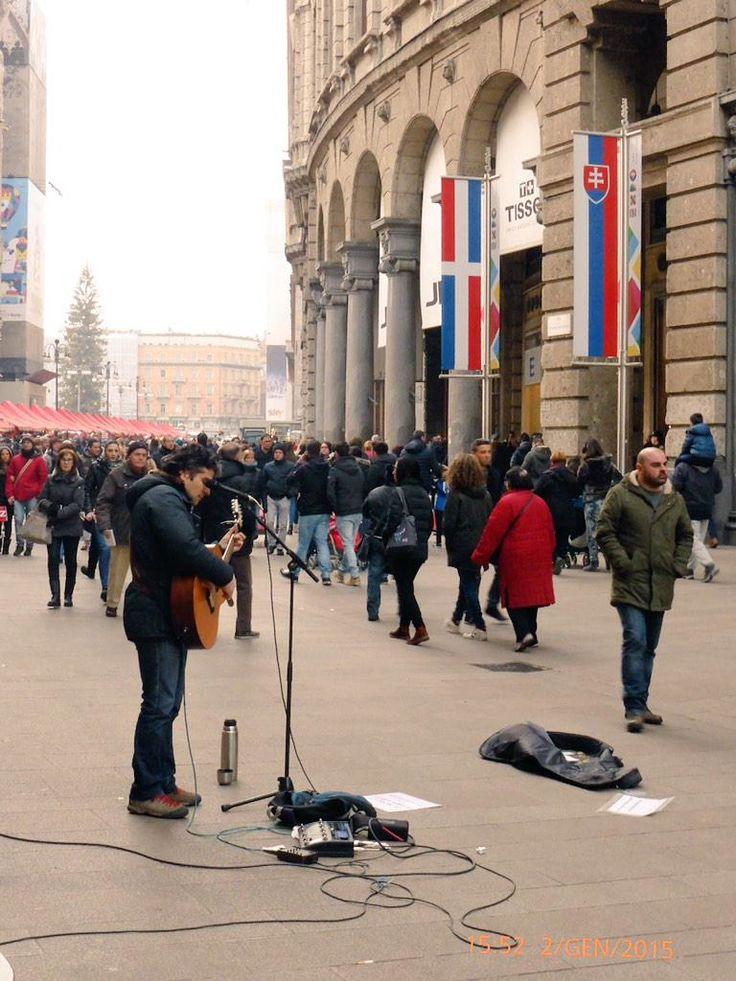Milano. Corso Vittorio Emanuele.