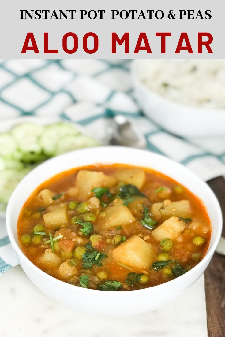 Welcome to Simple Sumptuous Cooking, a vegan cooking blog! Here's a quick recipe for Aloo Matar – Instant Pot Potato & P…