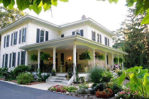 Fab Wrap Around Front Porch Renovated 1884 Colonial Wrap Around Porch Porches Design Houses