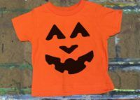 Happy Pumpkin Face Shirt