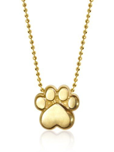 Alex Woo %22Little Activist%22 Paw Pendant Necklace