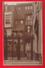 London EC1, St Bartholomew hospital, Gatehouse. Judges postcard.