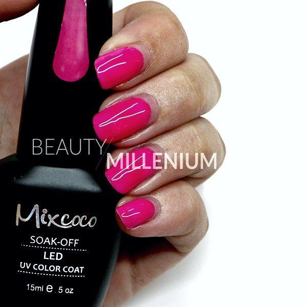#Mixcoco #gellak #070 'Baby Phat' verkrijgbaar via www.beautymillenium.nl - prijs €14,95 ✨ minimaal 2 weken lang prachtig gelakte #nagels met #MixcocoGellak #nails #gelnails #manicure #gelmanicure #nailart #gellish #gellac #gelish #gelnagellak #mani #nailartclub #beauty #nailpolish #cherryrednails #pinknails