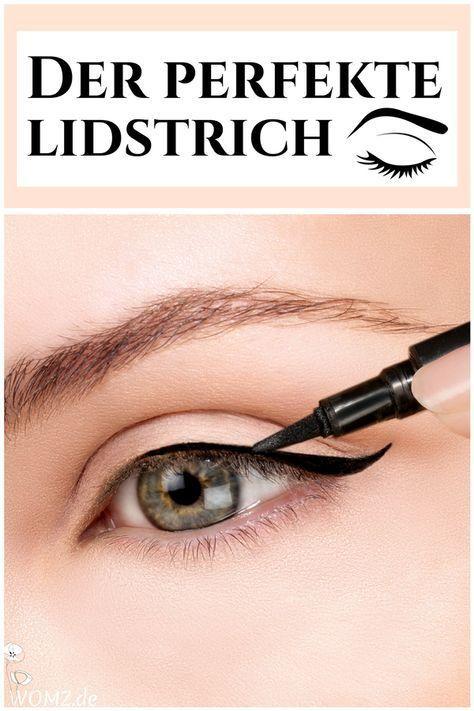 Gerade Anfänger tun sich beim Eyeliner Auftragen schwer. Ich zeige dir, wie auch Neulingen der perfekte Lidstrich gelingt und welche Eyeliner Arten es gibt. Spezielle Augenformen erfordern spezielles Make-up. Deswegen erfährst du, welchen Lidstrich du bei Schlupflidern anwenden solltest und was dir das Eyeliner Auftragen erleichtert. #lidstrich #eyeliner #anfänger #schlupflid #Over40BeautyTips