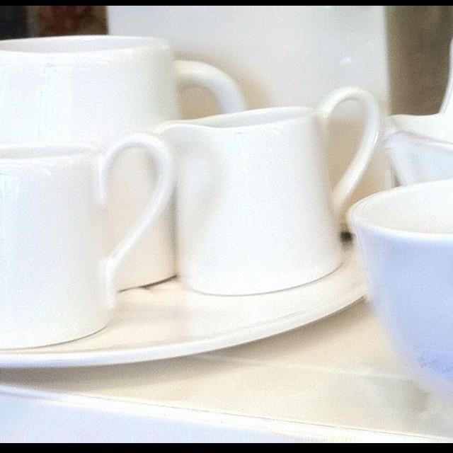 #white ceramic