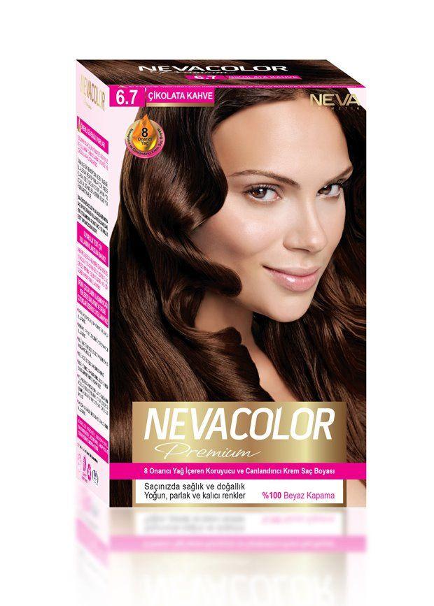 Nevacolor Premium Sac Boyasi 6 7 Cikolata Kahve Sac Sac Boyasi