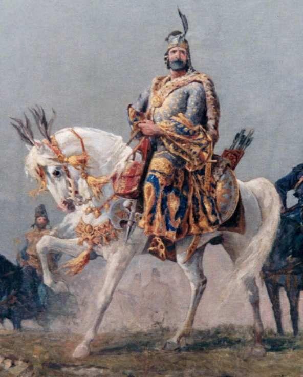 Árpád a Feszty-körképen
