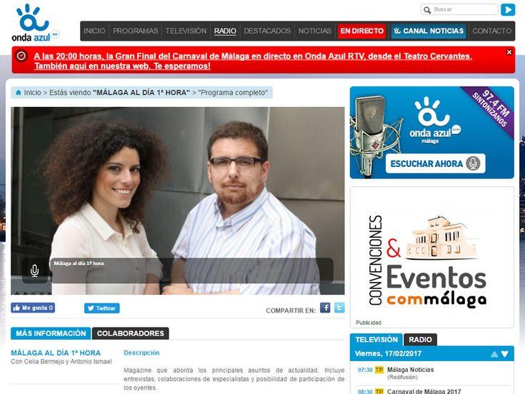 Con motivo de la salida al mercado del librojuego Héroes del Acero, Piratas, hoy me han entrevistado en Onda Azul Radio.
