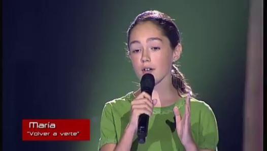 La voz kids - Maria Parrado - Volver a verte