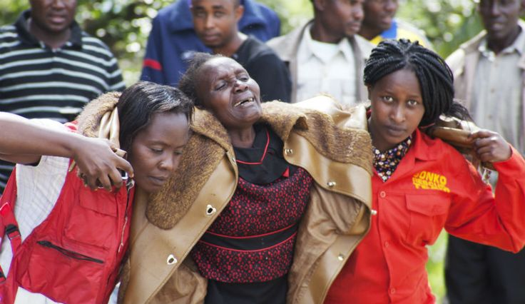 Kenya Attack That Left 147 Dead Compared To Paris Attack News Coverage now why is no one in america covering this story???? #PrayForKenya