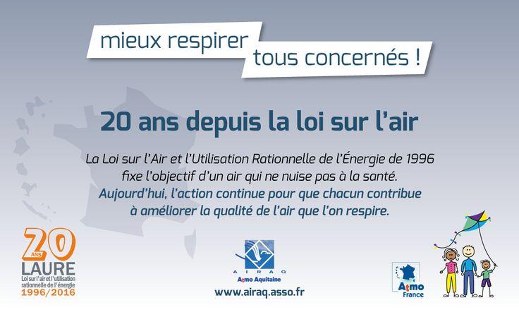 #Journéeair : Evolution de la surveillance en Nouvelle-Aquitaine au 1/1/17 : Regroupement d'AIRAQ-ATMO Aquitaine, LIMAIR et ATMO Poitou-Charentes