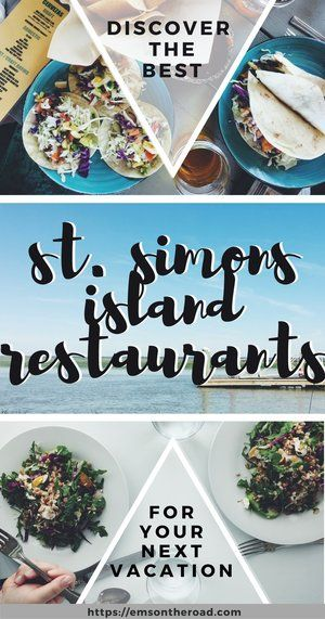 A local's guide to St. Simons Island Restaurants | Em's on the Road
