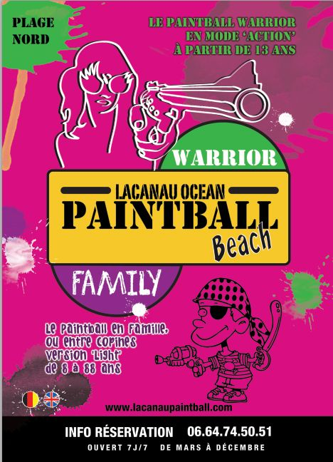 Lacanau Paintball