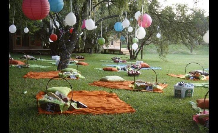 Idées déco: Mariage extérieur | Les idées de ma maison Photo: ©fresnoweddings.net #idees #deco #mariage #exterieur #inspiration