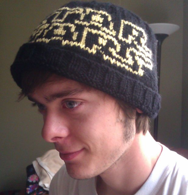Logo Knitting Pattern : Star wars logo hat knitting patterns