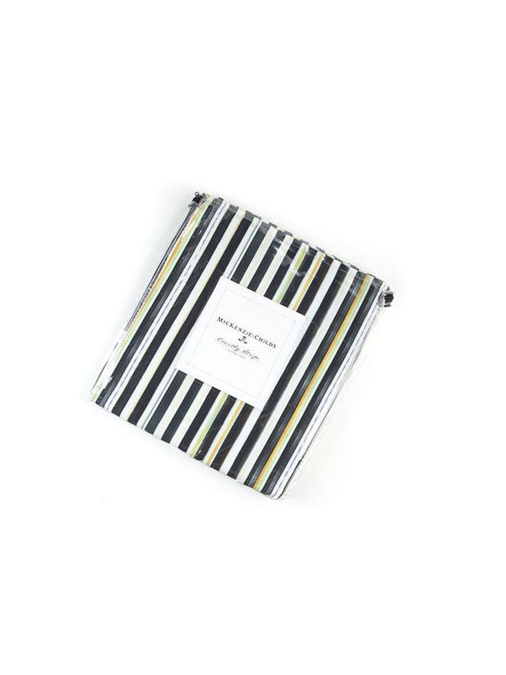 Mackenzie Childs Courtly Stripe Bed Skirt King Sold Out #MackenzieChilds