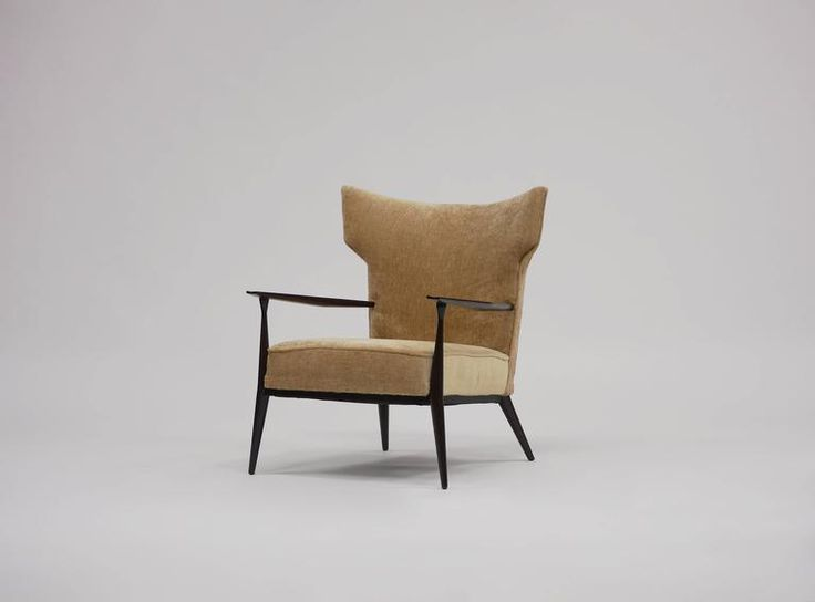 Pair of Paul McCobb Wingback Lounge Chairs 2
