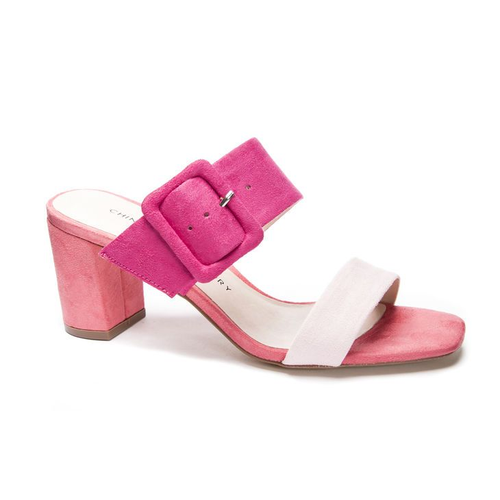 Chinese Laundry Yippy Fine Suede Slide Sandal Chinese Laundry