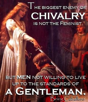 Being Caballero: Evolution of Chivalry and the Gentleman